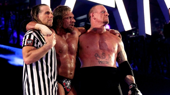 Wrestlemania-XXVIII-28-The-Undertaker-Triple-H-and-Shawn-Michaels
